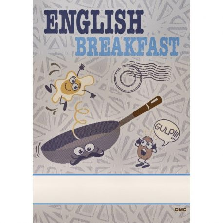 "Asciugapiatti DMC ""Comics"" English Breakfast"