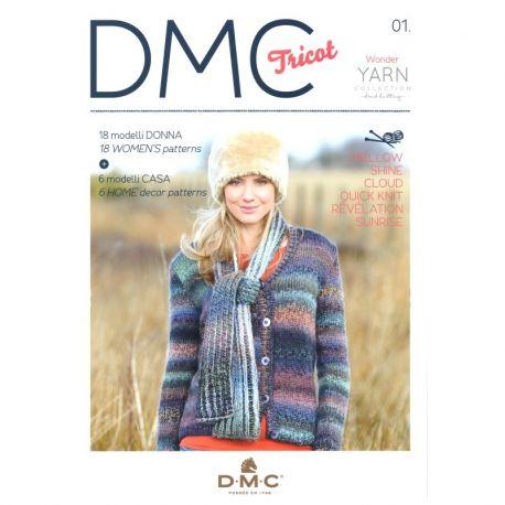 DMC Tricot - Wonder yarn collection handknitting 01