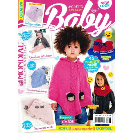 Creativa baby uncinetto e maglia