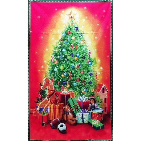 Albero di Natale stampato 85 x 145 cm