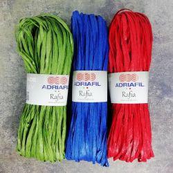 Rafia colorata in cellulosa vegetale
