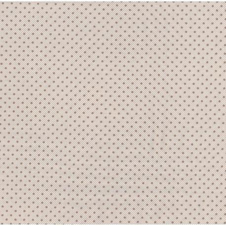Tessuto Americano Lily&Will Revisited by Bunny Hill Design Grigio Ton su Ton