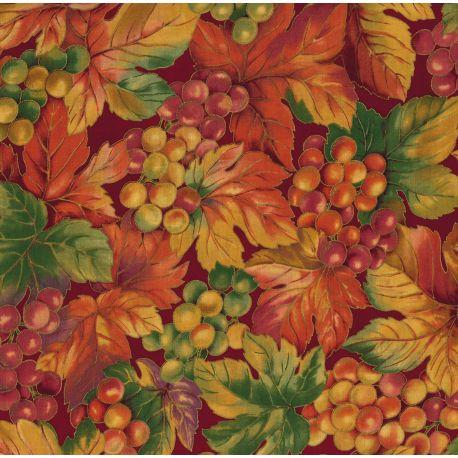 Tessuto Americano Grape Harvest