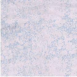 Tessuto Amerizano Chill by Zen Chic Azzurro e Bianco