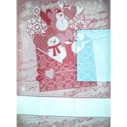 Asciugapiatti Lettera di Natale DMC