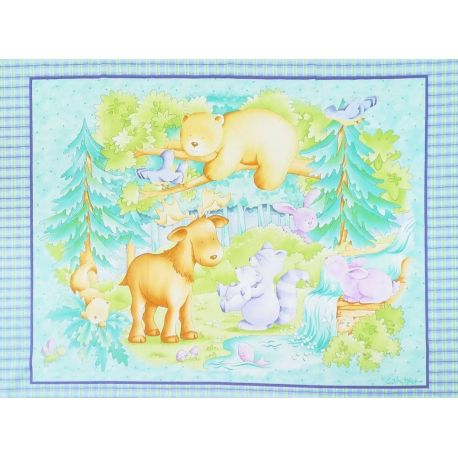 Tessuto Americano Little Forest Wall Hanging Pannello