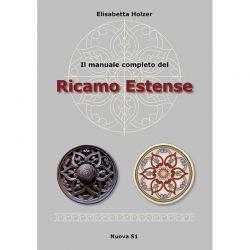 Il manuale completo del Ricamo Estense di Elisabetta Holzer