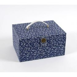 Scatola portalavoro Blue Flowers - DMC