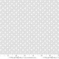 Tessuto Americano Whispers Criss Cross Zen Grey by Moda