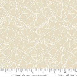 Tessuto Americano Whispers Tangles Natural by Moda