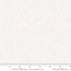 Tessuto Americano Whispers Tangles White by Moda