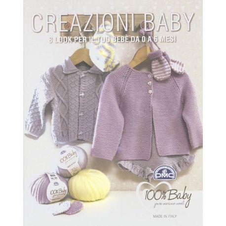 Creazioni baby - 8 look per il tuo bebè da 0 a 6 mesi