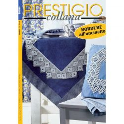 Collana prestigio - Bordure all'uncinetto - CP 151