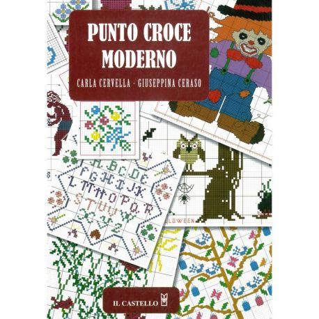 Punto croce moderno di Carla Cervella, Giuseppina Ceraso
