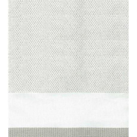 Coppia asciugamani cotone e lino - pois