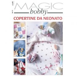 Magic hobby - Copertine da neonato - MH 72