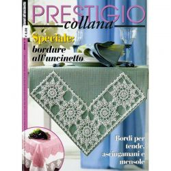 Collana prestigio - Speciale bordure all'uncinetto - CP 121
