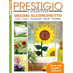Collana prestigio - Decori all'uncinetto - CP 143