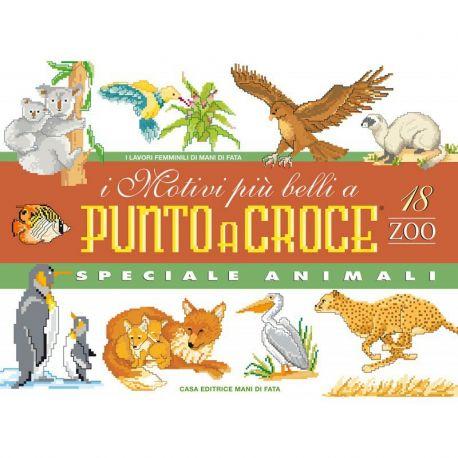 I motivi più belli a punto croce 18 zoo - speciale animali