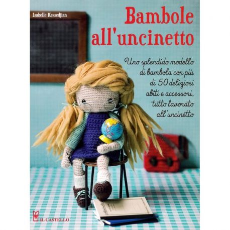 Bambole all'uncinetto di Isabelle Kessedjian