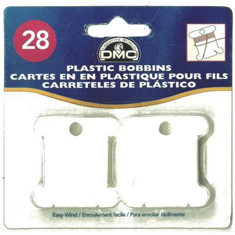 28 farfalline raccogli filo in plastica