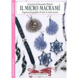 Il micro macramé - creazioni di Alessandra Pedrotti - MP38