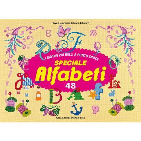 I motivi più belli a punto croce 48 - speciale alfabeti