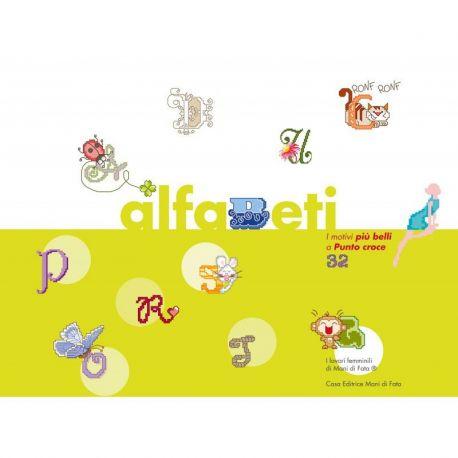 I motivi più belli a punto croce 32 - alfabeti